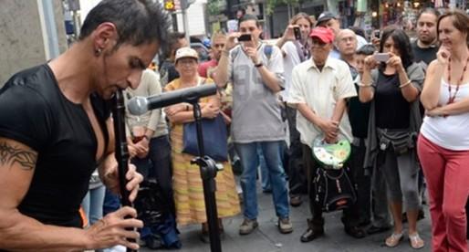 Horacio Franco a la calle, realismo mágico al estilo chilango