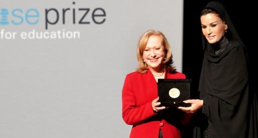 Premio Wise para Vicky Colbert