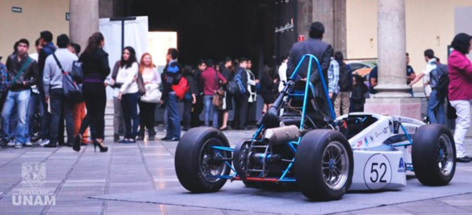 Ingeniería automotriz desarrollada por la UNAM