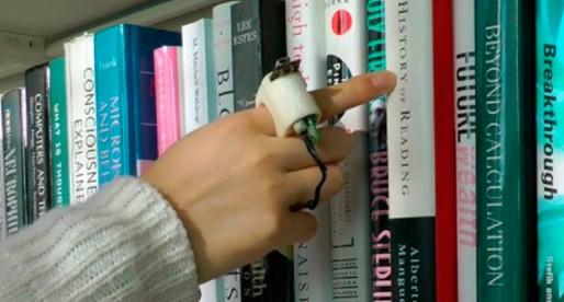 FingerReader, anillo lector para invidentes