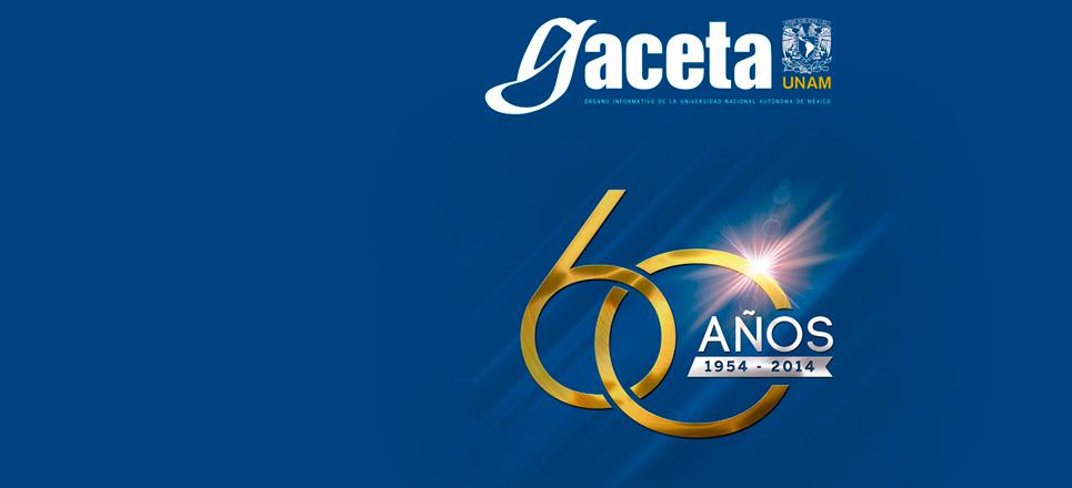 60 aniversario de Gaceta UNAM