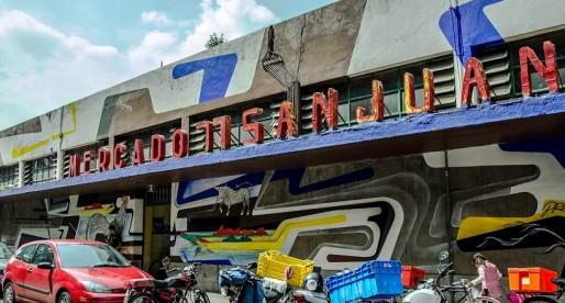 Mercado de San Juan en la Ciudad de México