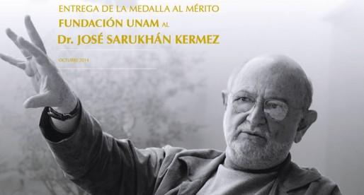 Entrega de Medalla al Mérito Fundación UNAM
