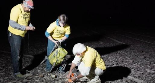 Greenpeace causa daño irreparable a las Líneas de Nazca