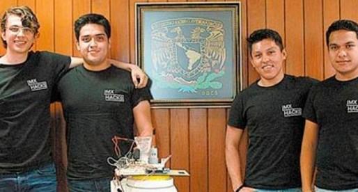 Alumnos de la UNAM inventan cafetera controlada vía Internet