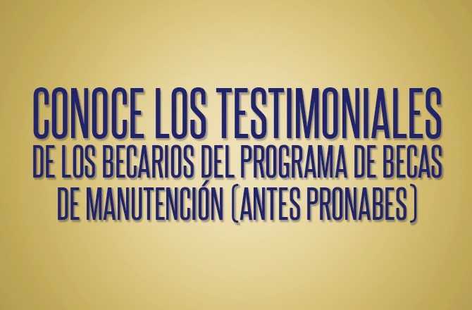 Becados por Fundación UNAM