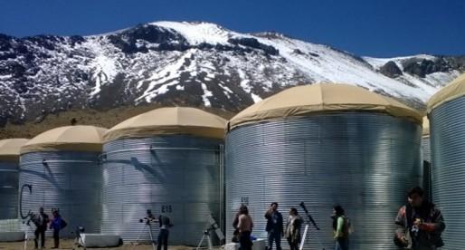El observatorio astronómico HAWC orgullosamente UNAM