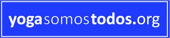 Logo yogasomostodos.org azul
