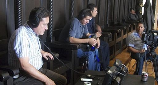Tv UNAM en el Palacio de la Autonomía