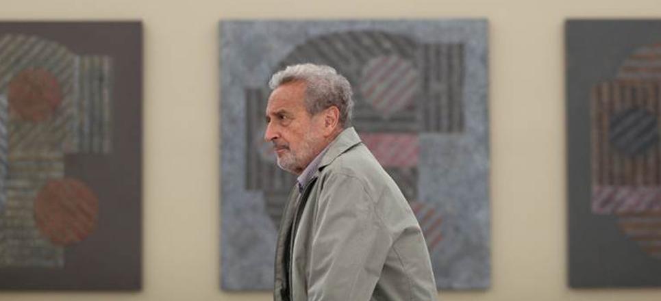 Vicente Rojo en el MUAC