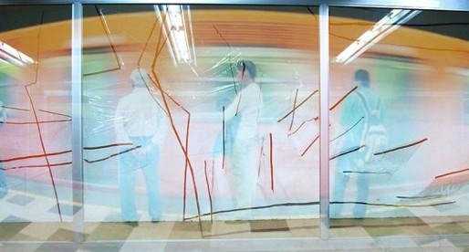 Contenedores de Tránsito. Arte contemporáneo en el metro
