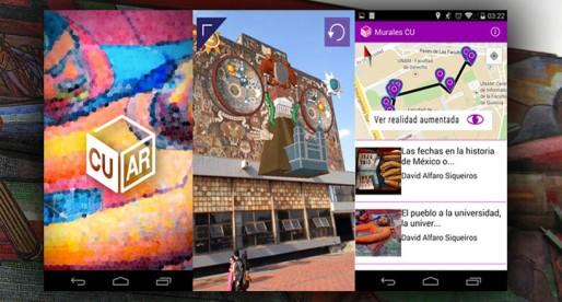 Murales de CU podrán ser admirados en 3D