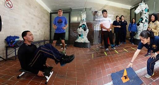 Inauguran instalaciones deportivas en Veterinaria