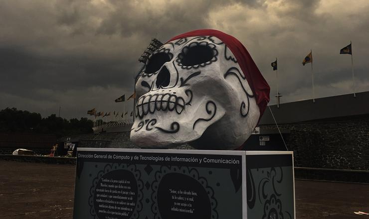 Dia Muertos UNAM 2
