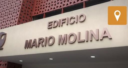 Inaugura UNAM el Edificio Mario Molina