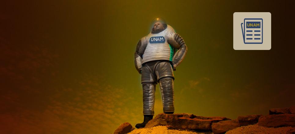 Crean universitarios casa para habitar Marte