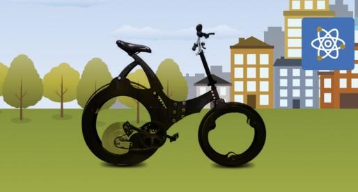 Desarrollan alumnos de la UNAM bicicleta plegable