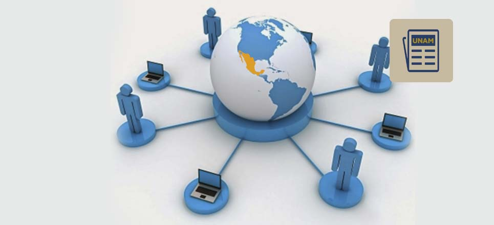 México se conecta a la red mundial con internet
