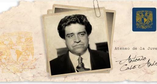 Antonio Caso, el gran filósofo universitario