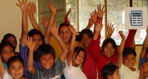 Crea UNAM plan de estudios para niños indígenas