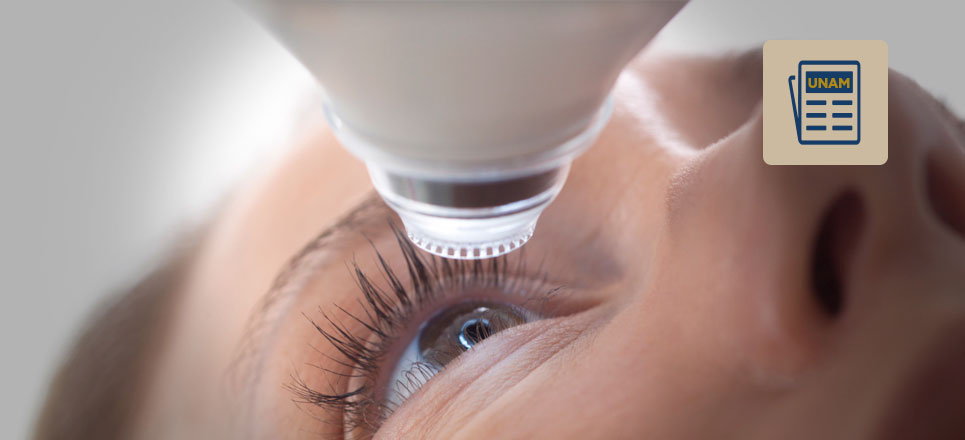 UNAM desarrolla equipo para operación de ojos a menor costo