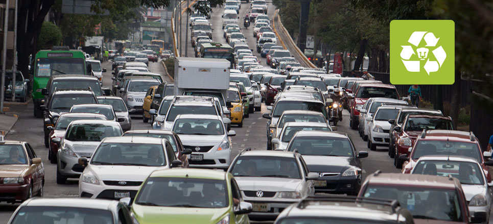 Reglamento de Tránsito produce más contigencias ambientales: UNAM