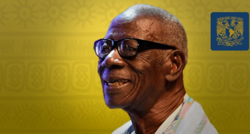 Reconocen UNAM y UNESCO al poeta Bernard Binlin Dadié