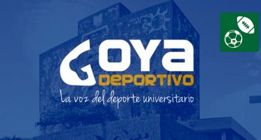 """""""Goya deportivo"""", los deportes de la UNAM en radio"""