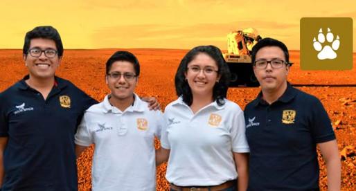 Crean estudiantes de la UNAM robot que simula explorar Marte