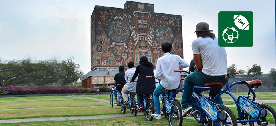 UNAM estrena Bicitren
