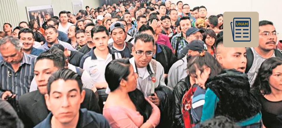 Capitalinos invierten hasta cuatro horas en traslados: UNAM