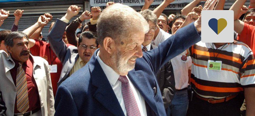 Néstor de Buen, un «gigante» del derecho mexicano