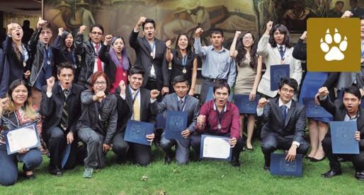 Reconoce UNAM a ganadores de la olimpiada del conocimiento