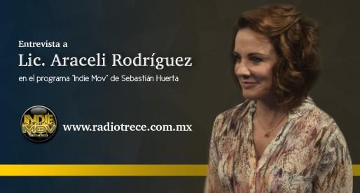 Entrevista a la Lic. Araceli Rodríguez en Radio Trece
