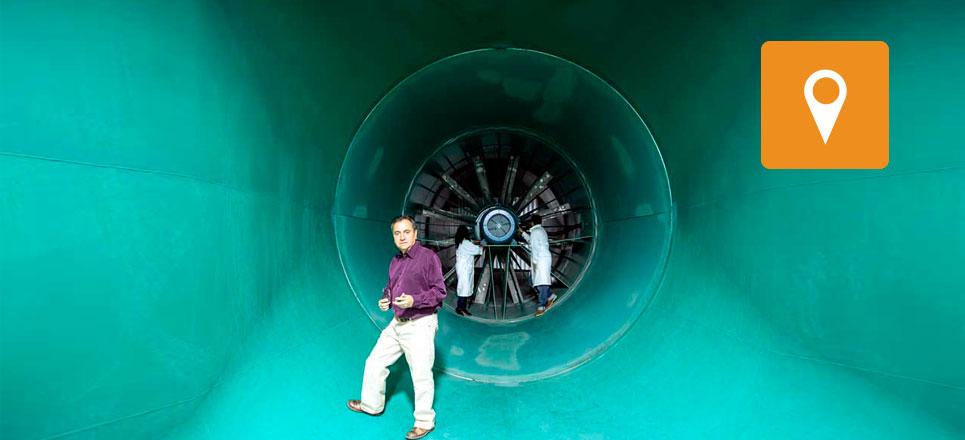Túnel de Viento: Laboratorio abierto a la innovación en ingeniería