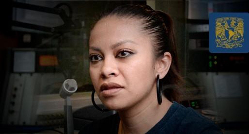 Dulce García, reportera destacada de Radio UNAM