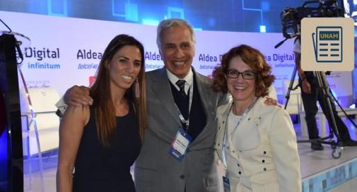 Fundación UNAM en la inauguración de la Aldea Digital 2016