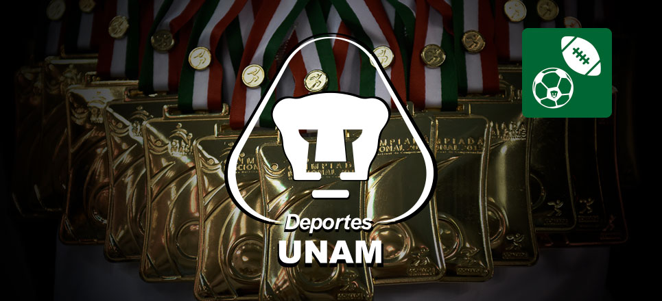 Van 26 medallas para la UNAM en competencias nacionales