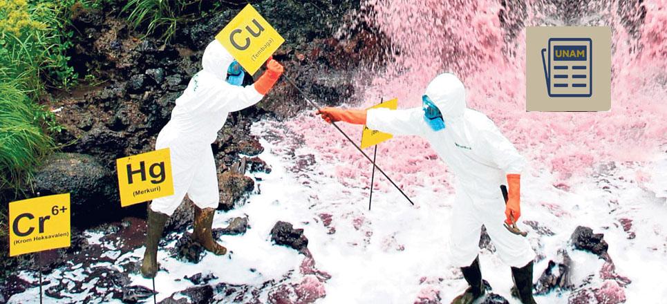 Investigan en la UNAM contaminantes en el agua que afectan la salud