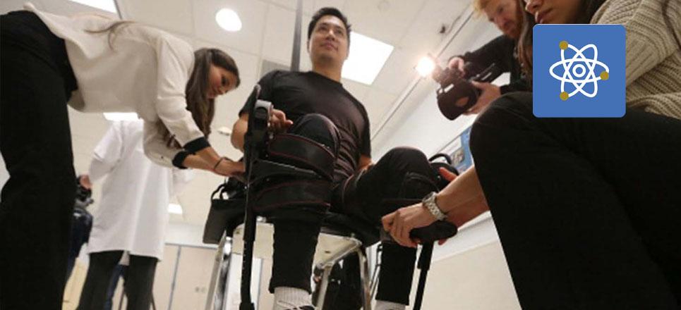 Crea UNAM exoesqueleto para personas con discapacidad