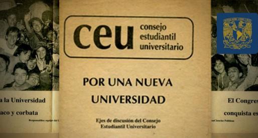 CEU, movimiento que frenó una reforma y formó a líderes políticos