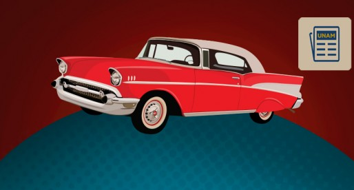 Los autos clásicos llegan a la UNAM