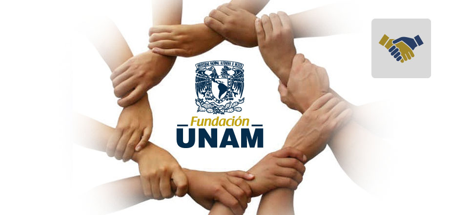 Únete a Fundación UNAM a través de Aporta.org