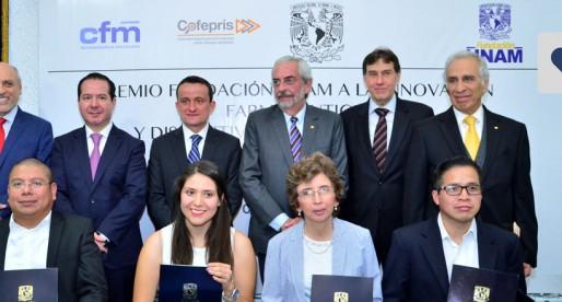 Entrega FUNAM premio a la Innovación Farmacéutica 2015
