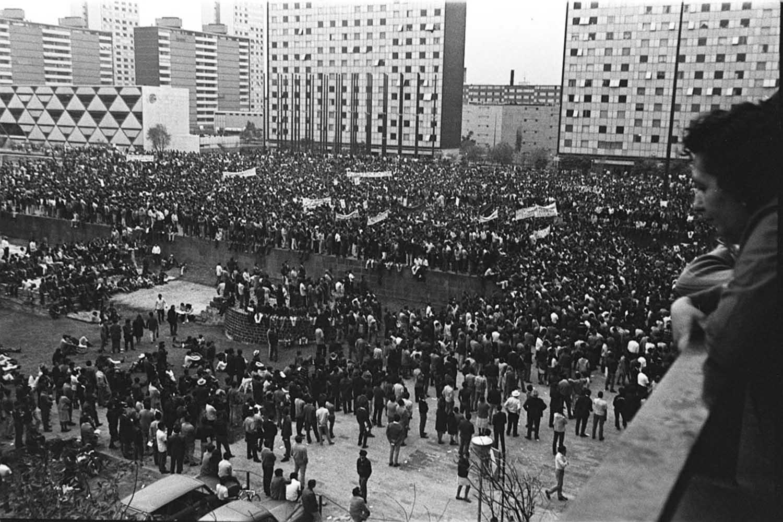 MOV 2 DE OCTUBRE DE 1968 INFORMACION MOVIMIENTO ESTUDIANTIL EN TLATELOCO
