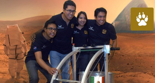Universitarios ganan premio de la NASA