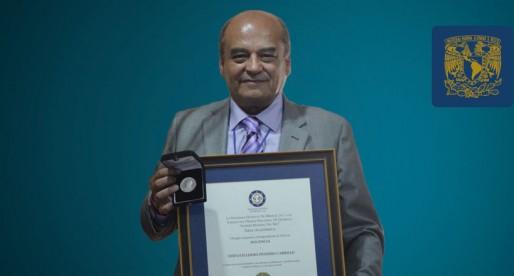 Académico de la FES Cuautitlán recibe premio en Química