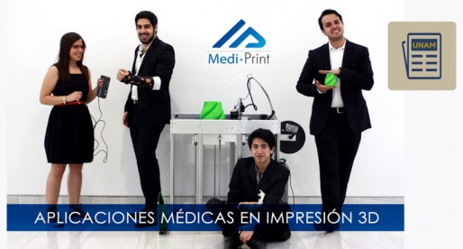 Universitarios ofrecen soluciones médicas en 3D
