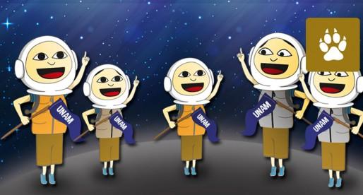 Cinco universitarios a la conquista del espacio