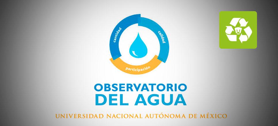 UNAM monitoreará uso de agua en tiempo real